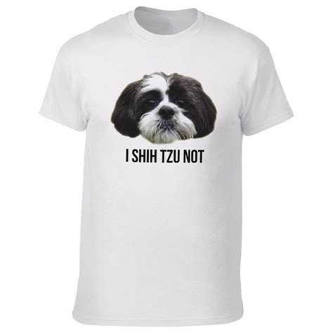 shih tzu shirts i shih tzu not t shirt from animals yeah yeah uk