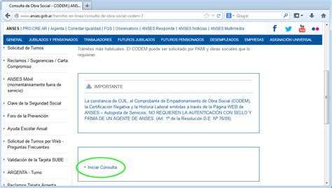 anses codem consulta consulta codem anses obra social codem anses consultas on line consulta de obra social codem