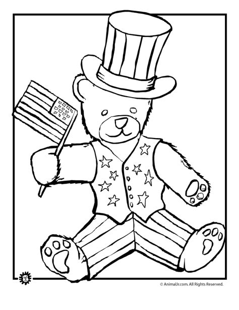 4th of july color pages az coloring pages