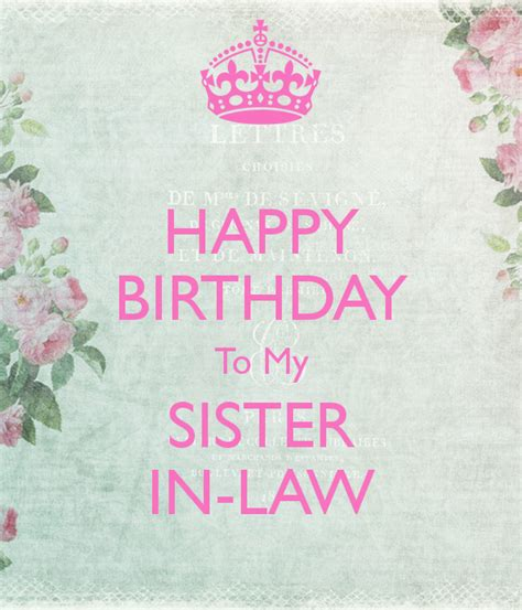 Happy Birthday Sister In Law Images | happy birthday sister in law quotes quotesgram
