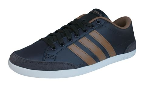 Adidas Neo Caflaire Brown Pria adidas neo caflaire grey trainers