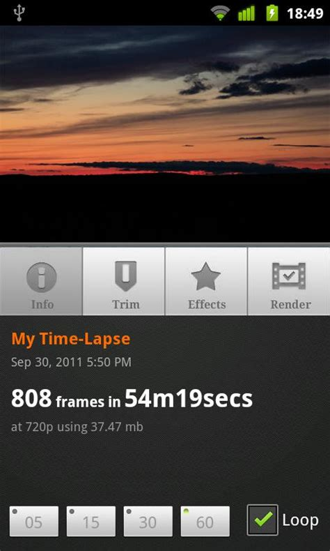 android time lapse lapse it time lapse free app android freeware
