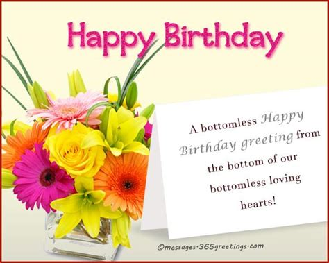 Short and sweet birthday quotes m4hsunfo