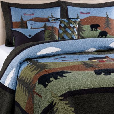 buy mountain lodge bedding from bed bath beyond