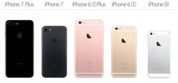 iphone lineup iphone 7 iphone 6s and iphone se this is apple s fall 2016 iphone lineup bgr