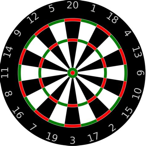 dartboard template by anonymous a dartboard with letters
