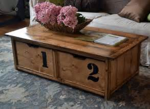How To Build A Coffee Table With Storage How To Make A Storage Coffee Table Diy Tutorials