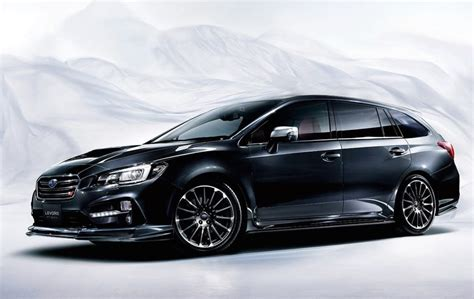 subaru rsti wagon subaru levorg sti sport revealed as hotted up wagon