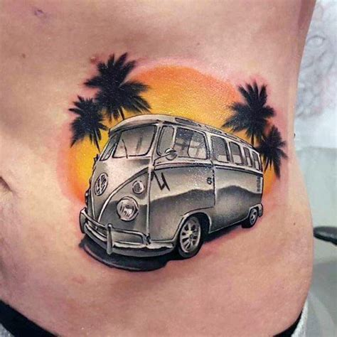 50 volkswagen vw tattoos for men automotive design ideas
