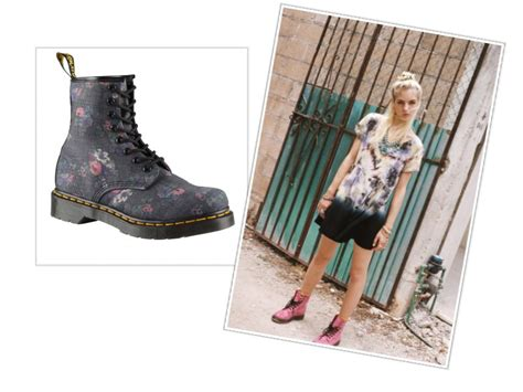 Trend: How to wear Dr Martens during Summer Dentelle FleursDentelle Fleurs