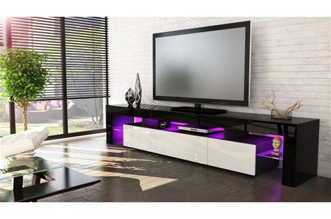 Meuble Tv Design Noir by Meuble Tv Design Laqu 233 Noir