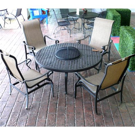 patio furniture pit table set sedona pit set patio furniture