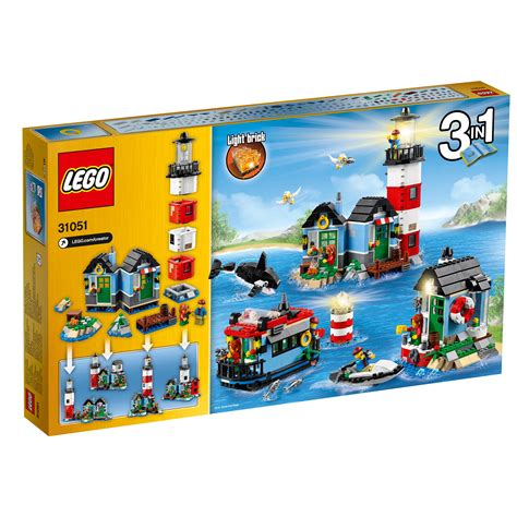 amazon lego amazon com lego creator lighthouse point 31051 building