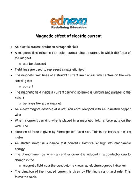 notes on recent researches in electricity and magnetism intended as a sequel to professor clerk maxwell s treatise on electricity and magnetism classic reprint books magnetic effect of electric current notes jee 2015