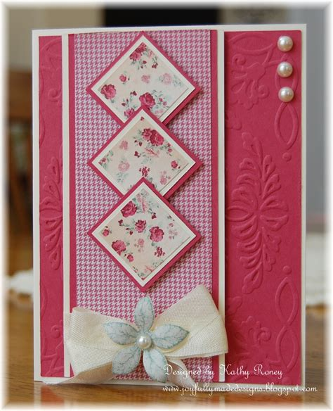 How To Make A Beautiful Handmade Folder - joyfully made designs one sheet 6x6