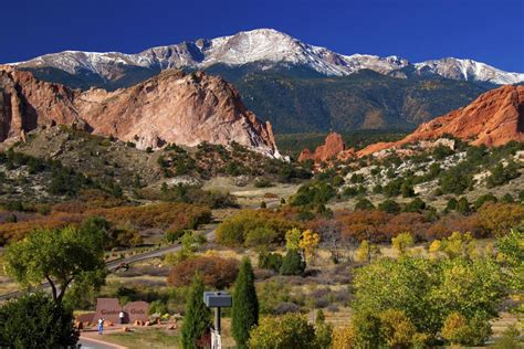 Denver To Garden Of The Gods by Pikes Peak And Air Academy