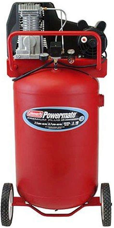 coleman powermate cl0504013 premium plus series electric air compressor vertical portable