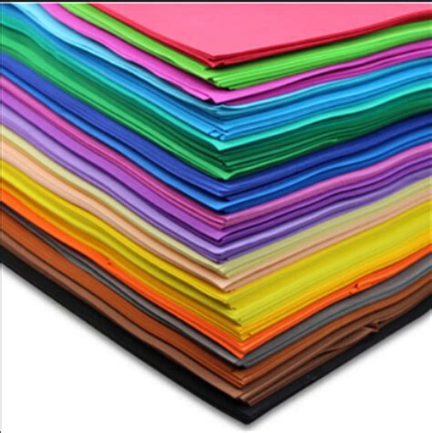 Home Decor Stars by 10pcs Lot 50 50cm 1mm Thickness Scrapbooking Crafts Paper