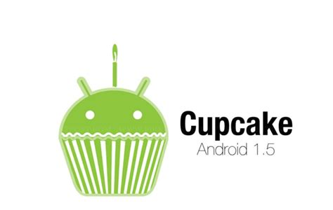 android cupcake why are android os versions named after