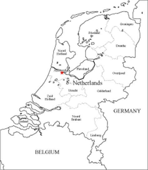 netherlands map blank map blank