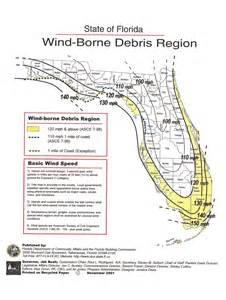 florida wind load map permit source information