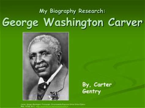 biography about george washington carver ppt who was george washington carver powerpoint