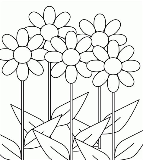 coloring pictures of flowers in a vase flower tropical flower coloring pages sunflowers in a