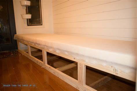 banquette bench seating diy built in banquette tutorial bigger than the three of us