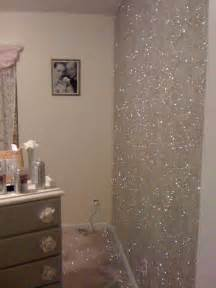 1000  images about bedroom ideas on Pinterest   Glitter walls