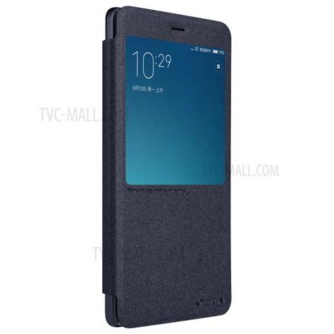 Termurah Nillkin Sparkle Window For Xiaomi Redmi 3 Pro nillkin sparkle series smart view window leather for xiaomi redmi note 4 black tvc mall