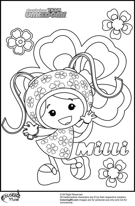 Team Umizoomi Umizoomi Games Videos Coloring Pages Nick Jr | team umizoomi printable coloring pages coloring home
