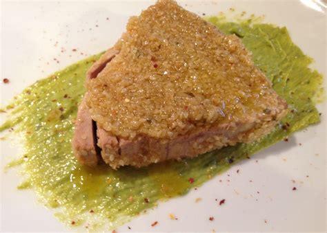come cucinare tranci di tonno trancio di tonno in padella al sesamo jpg lorenzo vinci
