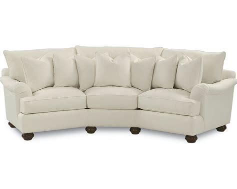wedge sofas portofino wedge sofa english arm bun foot thomasville