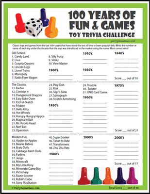 printable christmas trivia games for parties toy trivia challenge 100 years of fun and games