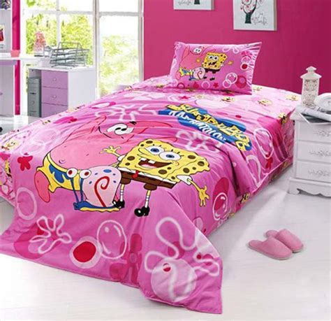 spongebob squarepants bedroom set pink spongebob bedroom