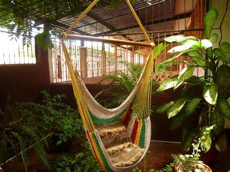 sitting hammock multicolor sitting hammock hanging chair natural cotton and