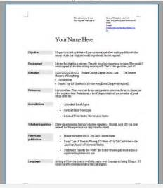 How To Do Resumes For A by By Step How To Do A Resume For A Step Nogodis