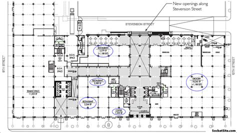 Whole Foods Floor Plan by Socketsite Plans For First Mid Market Grocery Coming To