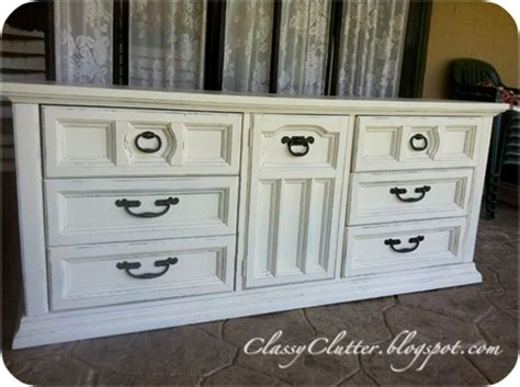 repainting bedroom furniture creamy white dresser redo do it yourself projects