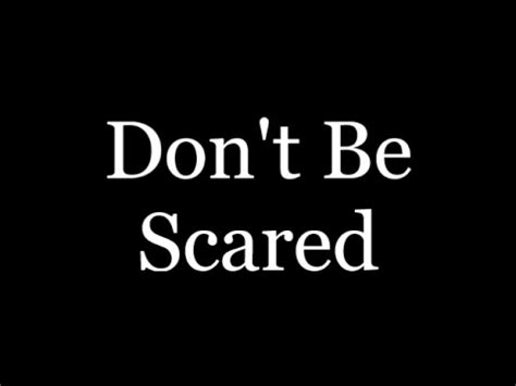 don t be a books don t be scared a horror