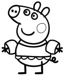 peppa pig coloriage pour les enfants