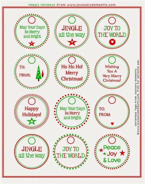 printable gift tags on pinterest printable scary christmas gift tags joyously domestic