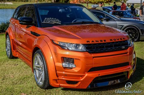 orange range rover evoque range rover evoque vesuvius orange by auto