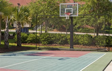how to make a basketball court in your backyard build your own basketball court wolofi com