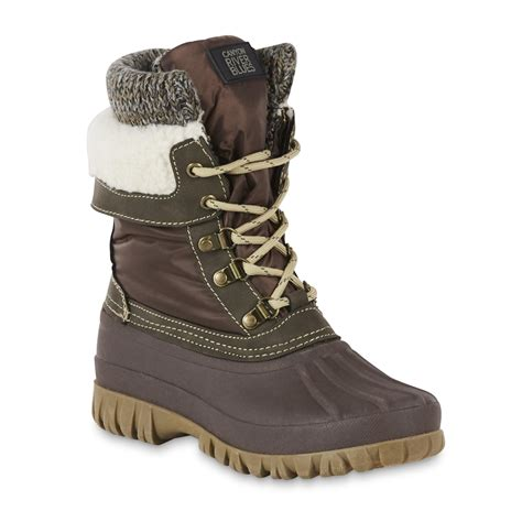 river blues s richmond winter duck boot
