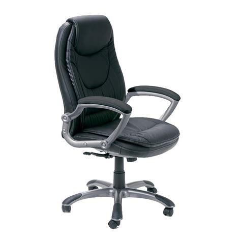 chaise de bureau noir chaise de bureau quot premium quot noir