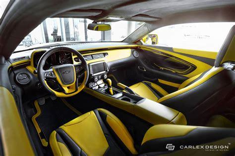 camaro interni carlex design chevrolet camaro