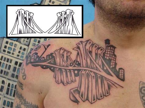 brooklyn tattoos designs cool bridge images