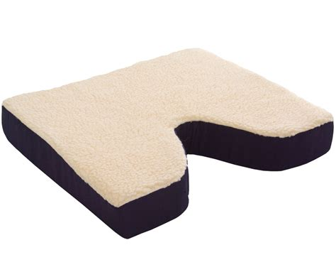 Coccyx Cusion fleece covered coccyx cushion essential supply
