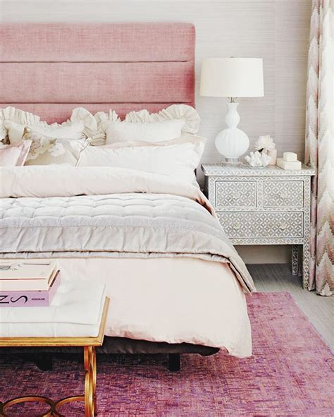 sophisticated pink bedroom think pink it s all grown up this peaceful home